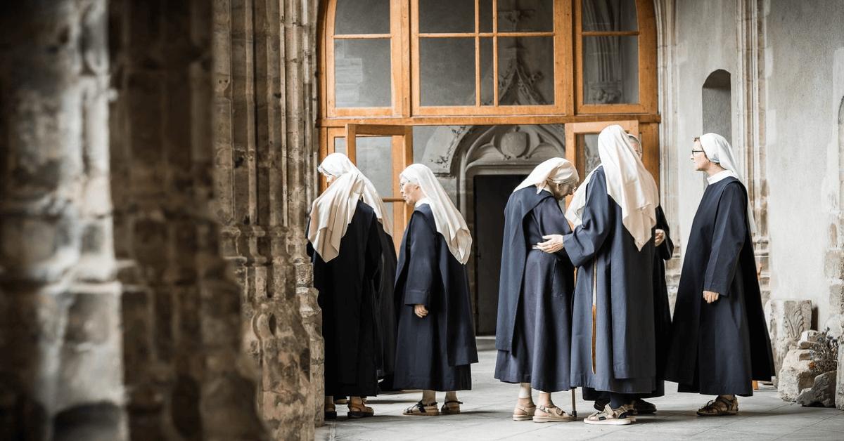 L'abbaye de Chantelle compte aujourd'hui une petite quinzaine de soeurs bénédictines