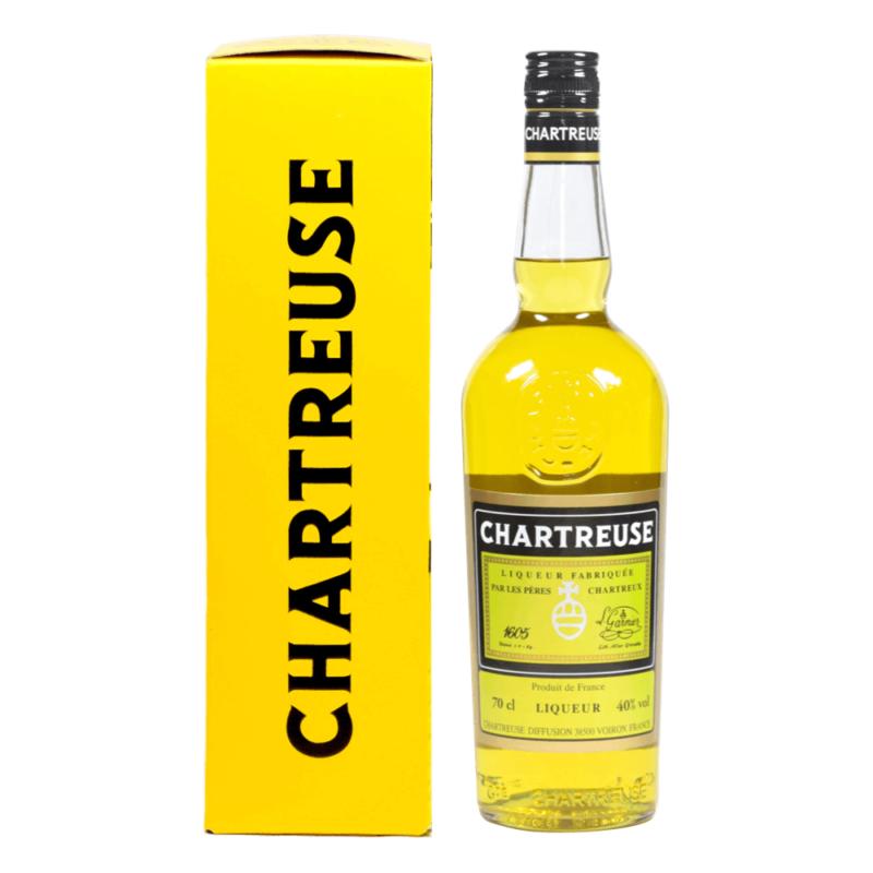Chartreuse Jaune 70cL - Monastère de la Grande Chartreuse - Divine Box