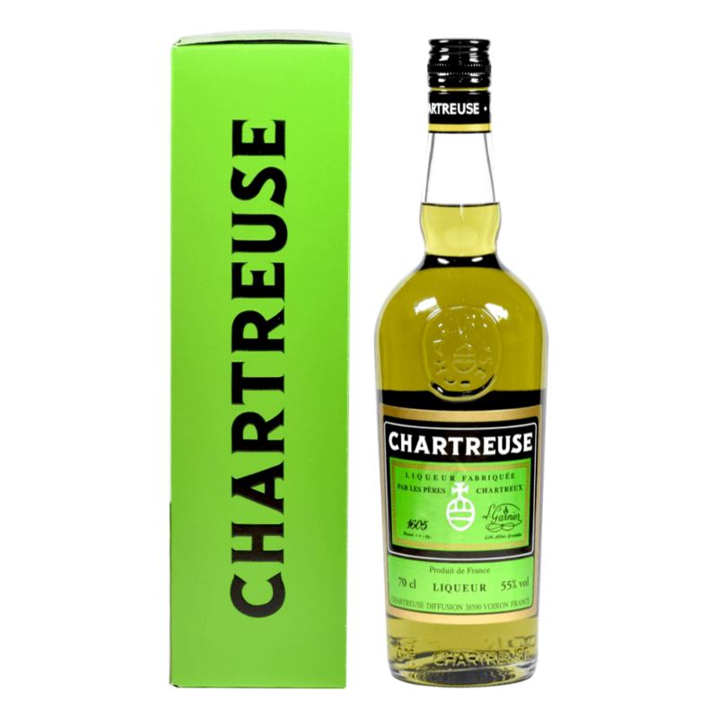 Chartreuse Verte 70cL - Monastère de la Grande Chartreuse - Divine Box