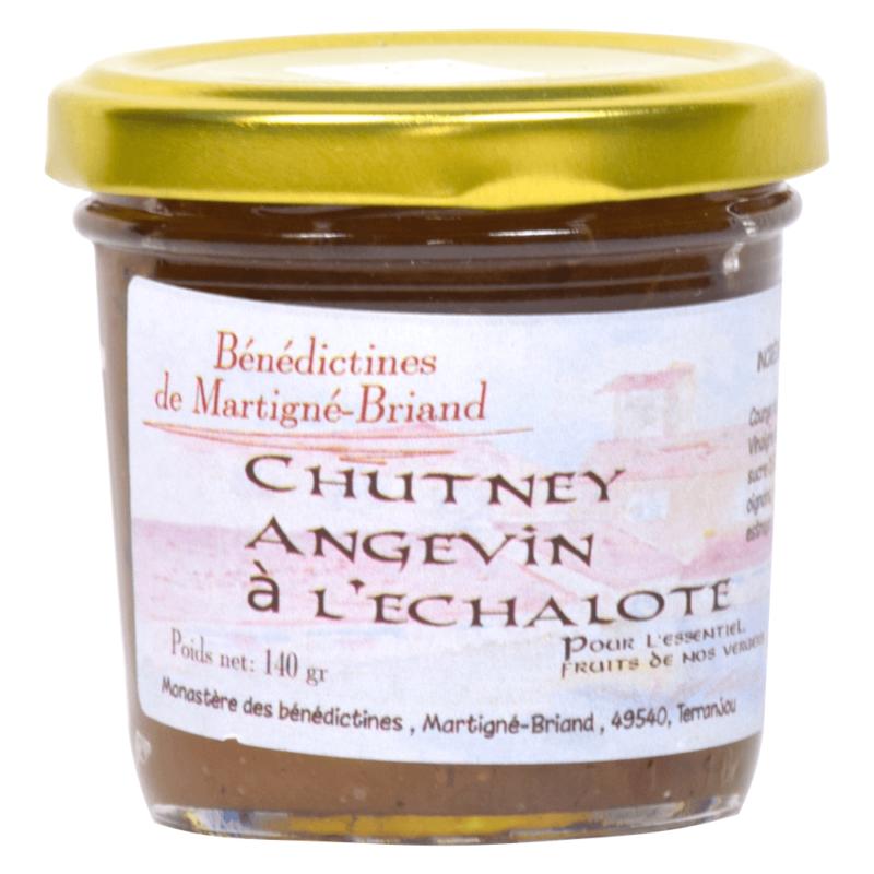 Chutney angevin à l'échalote - Monastère Notre-Dame de la Compassion de Martigné-Briand - Divine Box