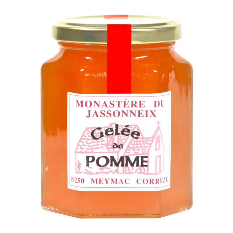 Gelée de pomme- Prieuré Sainte-Marie du Jassonneix - Divine Box