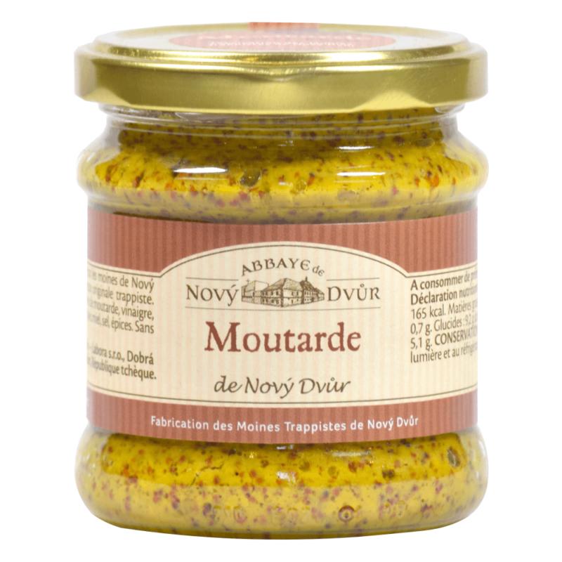 Moutarde de Novy Dvur - Abbaye Notre-Dame de Novy Dvur - Divine Box