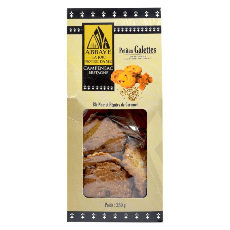 Petites galettes de blé noir aux pépites de caramel – Abbaye la Joie Notre-Dame de Campénéac - Divine Box