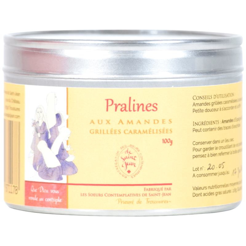 Pralines aux amandes - Les soeurs contemplatives de Saint-Jean - Divine Box