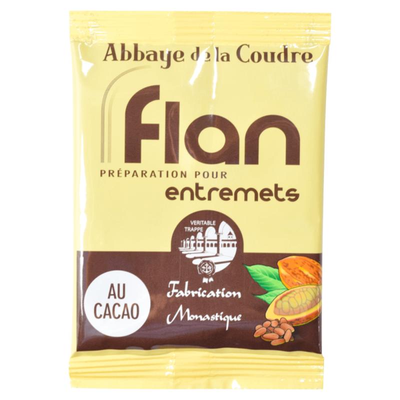 Préparation pour entremets au cacao - Abbaye Notre-Dame de la Coudre - Divine Box