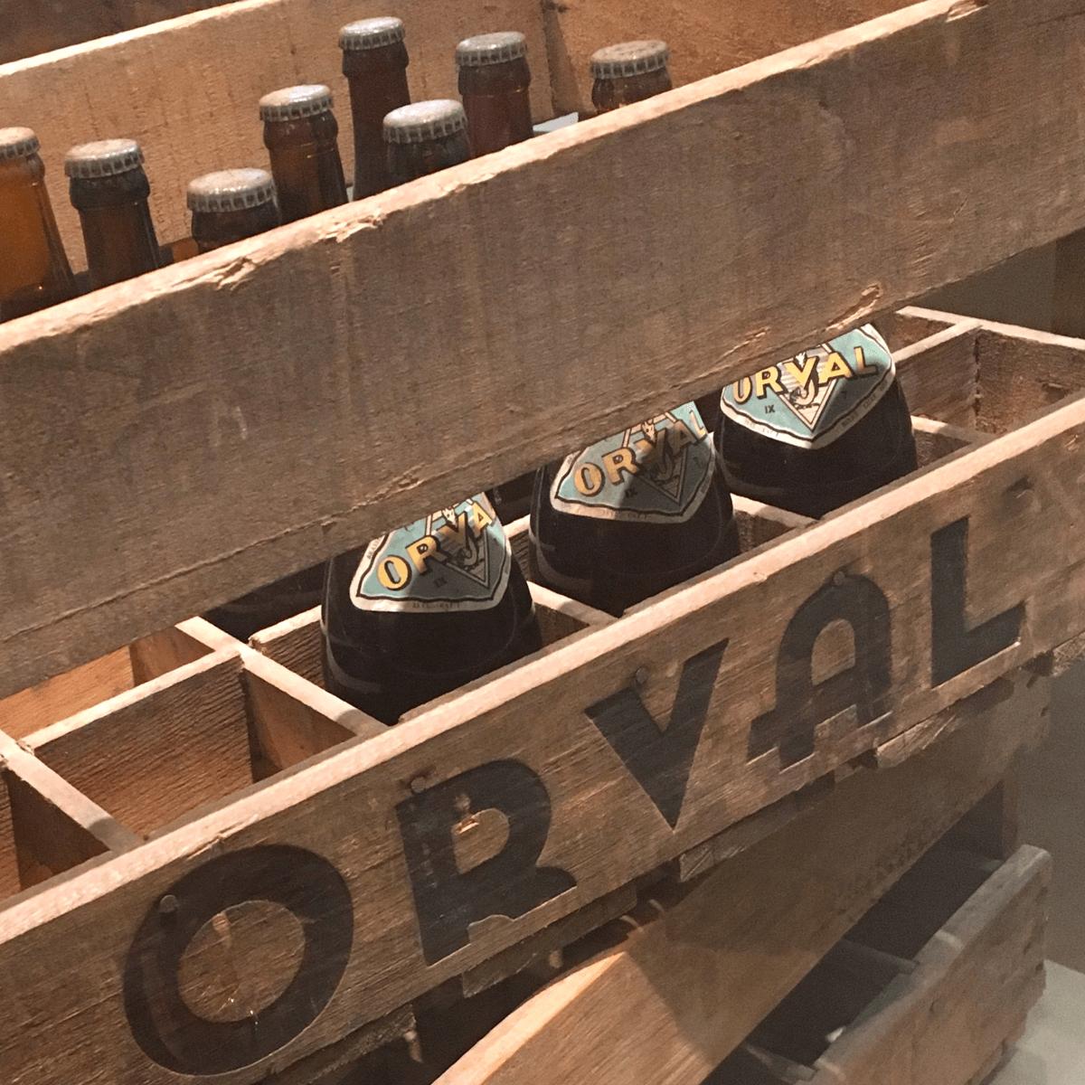 La bière Orval peut très bien se vieillir en cave et se bonifie avec le temps, comme un grand cru