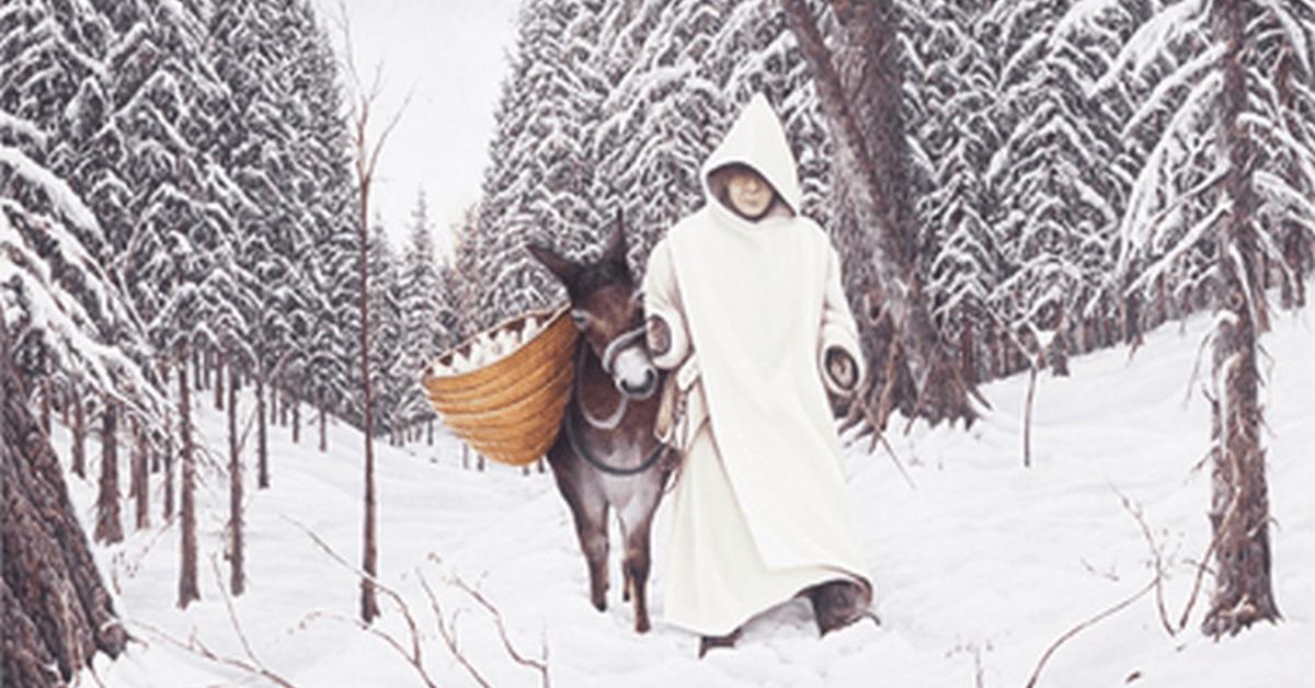Dès la moitié du XVIIIe siècle, frère Charles sillonne la région des Alpes pour distribuer le précieux élixir végétal de la Grande Chartreuse