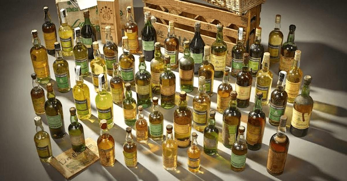 Les liqueurs de la Grande Chartreuse sont produites depuis des siècles, et il en existe aujourd'hui toute une ribambelle