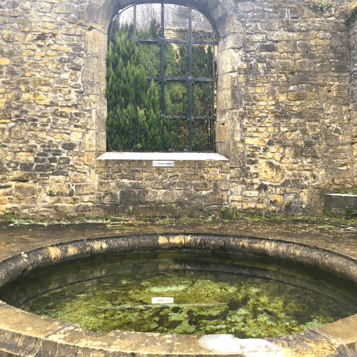 La source Mathilde, dont l'eau sert pour le brassage de la bière Orval, est située au sein de l'abbaye