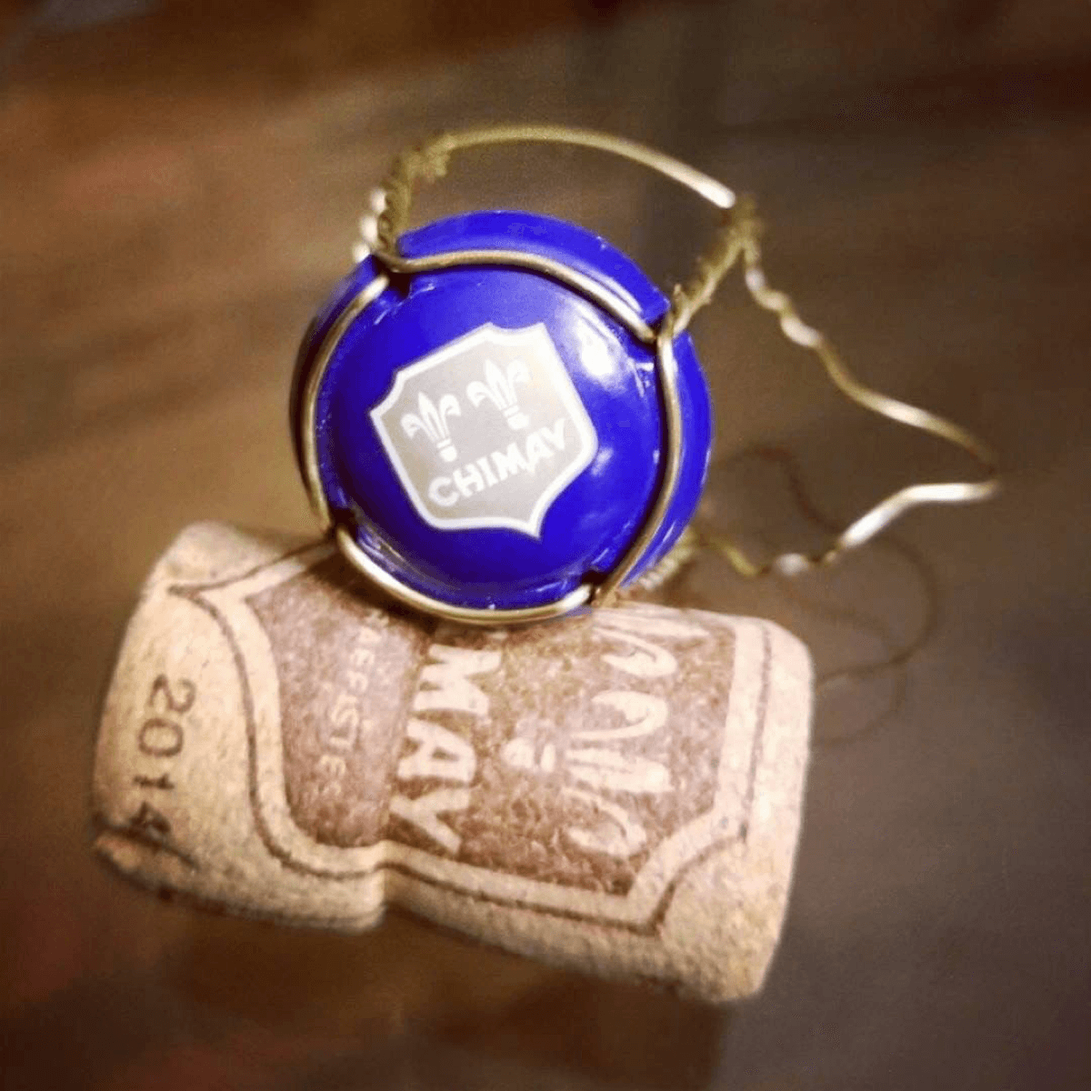 La Chimay Bleue tire son nom de la couleur de sa capsule