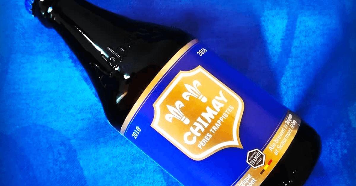 La Chimay Bleue de l'abbaye de Scourmont est classée parmi les meilleures bières du monde