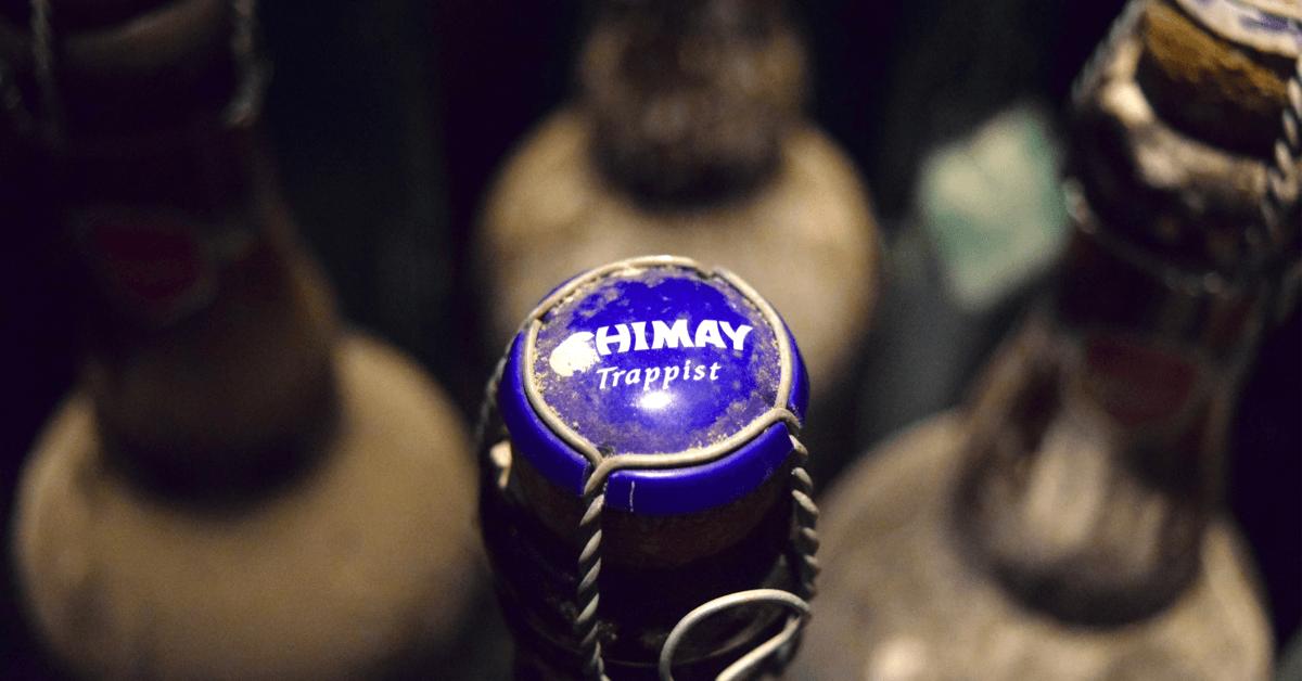 La Chimay Bleue est encore meilleure lorsqu'on la laisse vieillir plusieurs mois ou années en cave