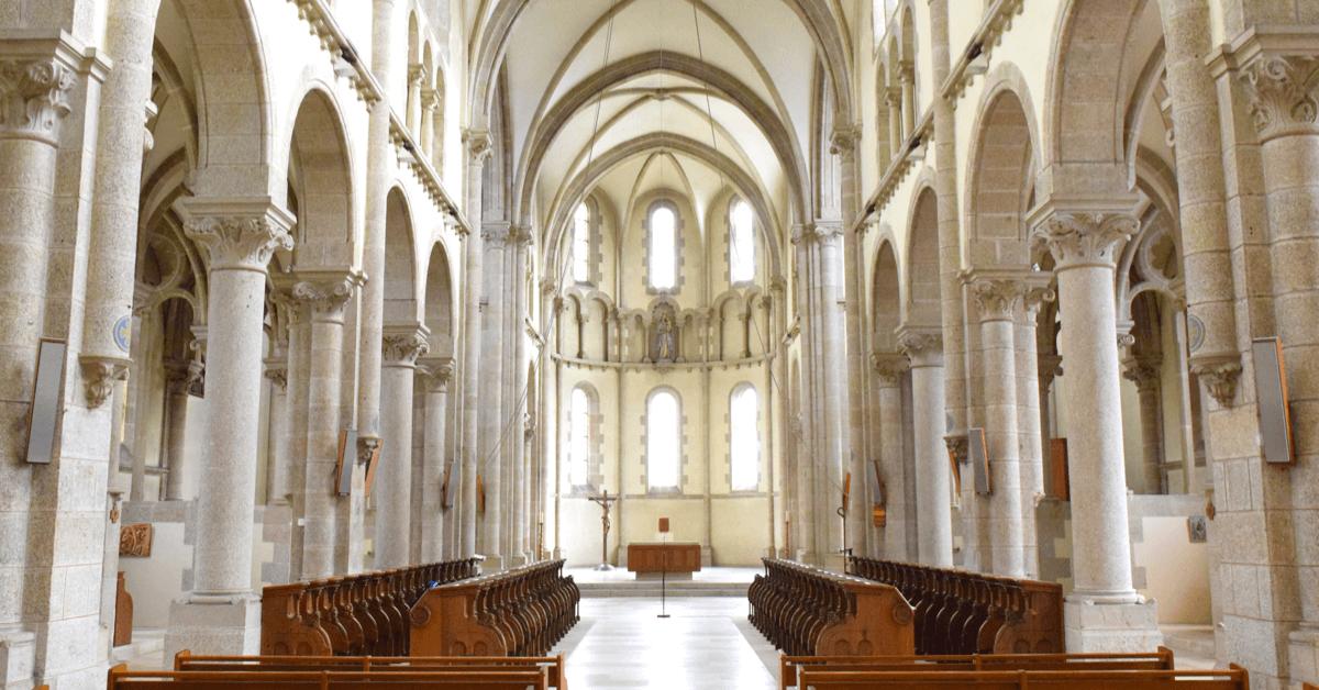Aujourd'hui encore, on peut admirer la très belle église de 1846