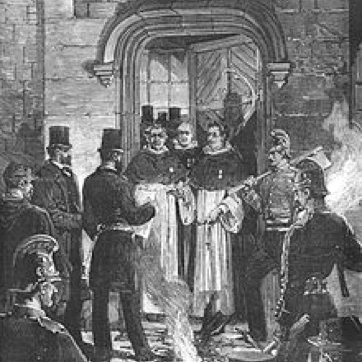 En 1880, un décret ordonne l'expulsion des moines de 261 monastères, dont l'abbaye de Timadeuc