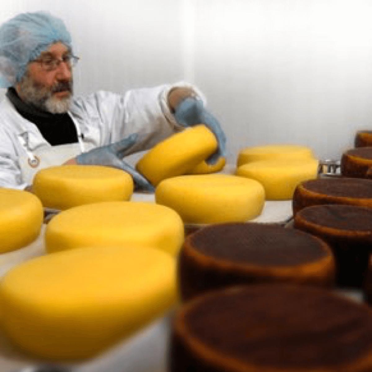 Les moines de l'abbaye de Timadeuc produisent du fromage artisanalement depuis 1841