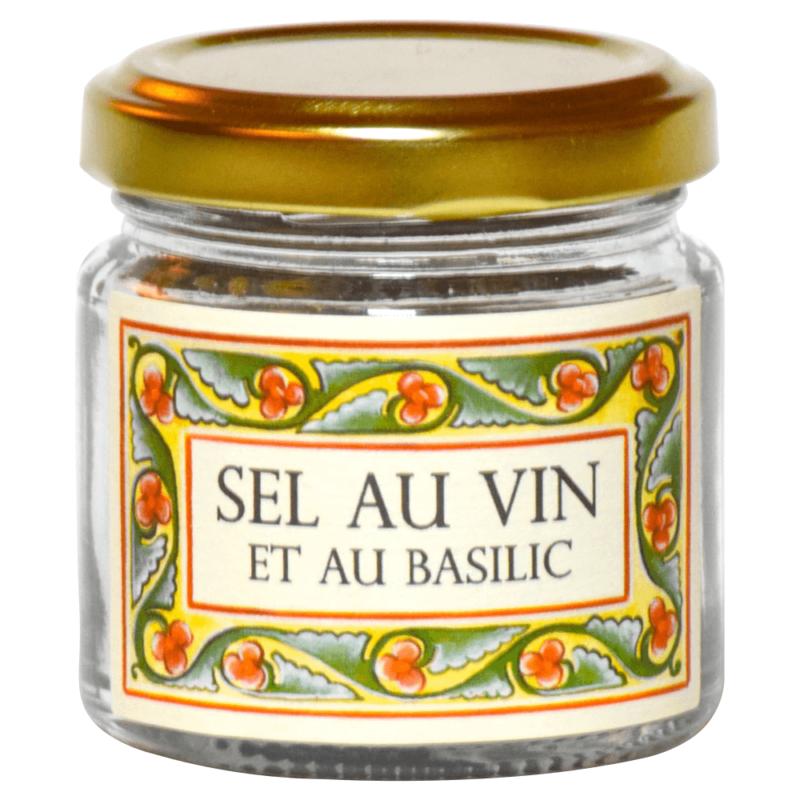 Sel au vin et au basilic - Monastère de Solan - Divine Box