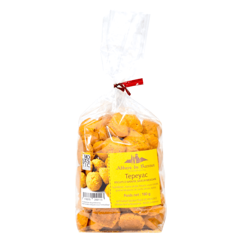 Biscuits salés Tepeyac – Abbaye Sainte-Madeleine du Barroux - Divine Box