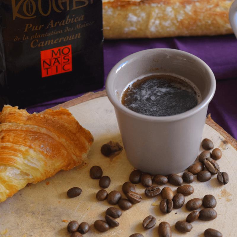Café moulu pur arabica - Abbaye Notre-Dame de Koutaba - Divine Box