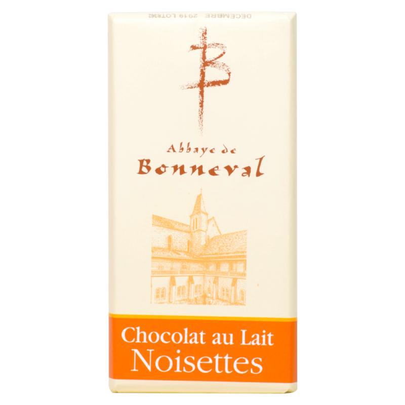 Chocolat au lait aux noisettes – Abbaye Notre-Dame de Bonneval - Divine Box
