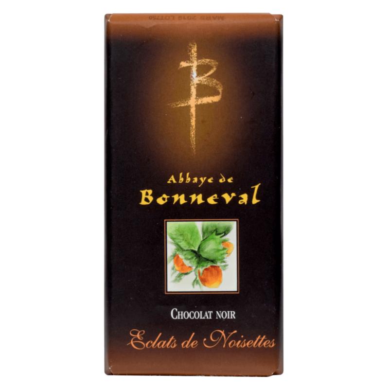 Chocolat noir aux éclats de noisettes - Abbaye Notre Dame de Bonneval