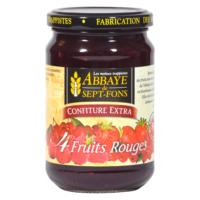 Confiture aux 4 fruits rouges – Abbaye Notre-Dame de Sept-Fons - Divine Box