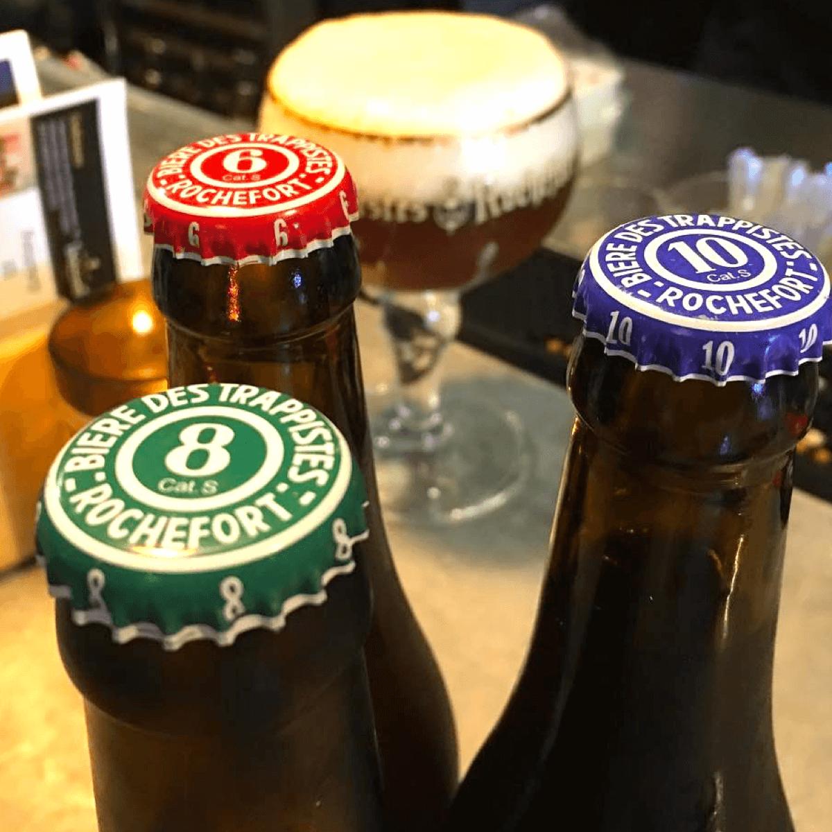 La bièreRochefort ne sort jamais sans ses soeurs ! - Crédit Photo : @brusselsbistro