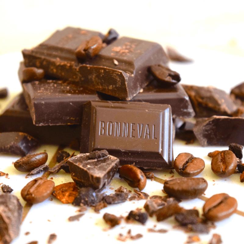 Chocolat noir au café - Abbaye Notre-Dame de Bonneval - Divine Box
