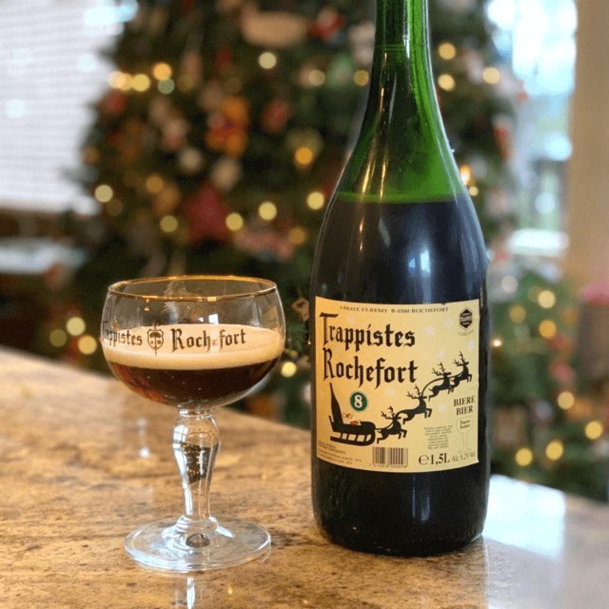 La Rochefort 8 est «Spéciale», car au départ elle était brassée pour la fête de Noël