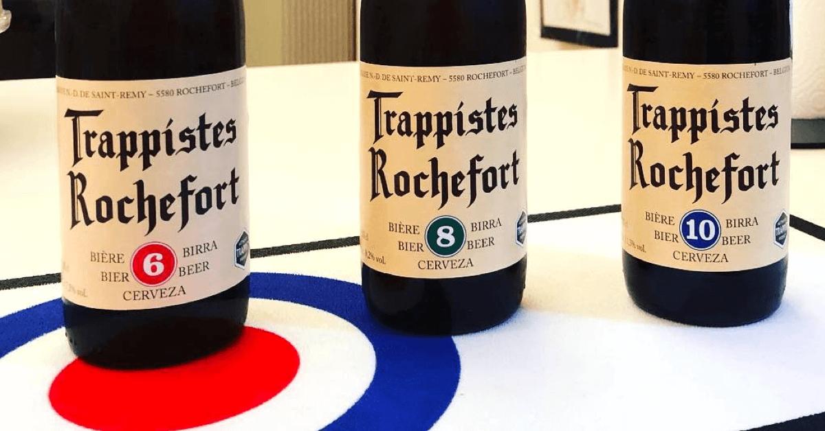 Les bières Rochefort de la moins alcoolisée à la plus alcoolisée - Crédit Photo : @lecantillon