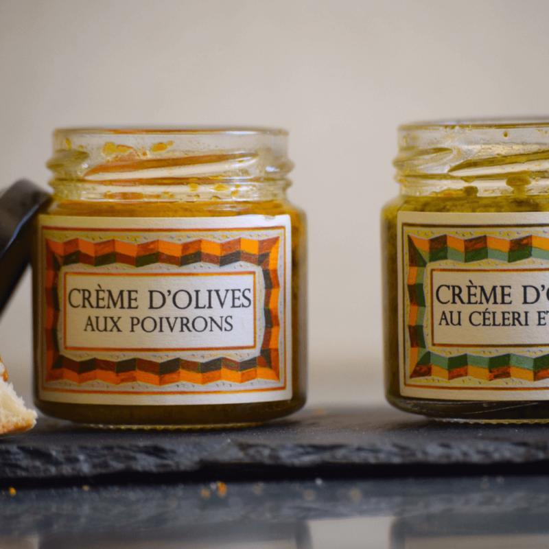 Crème d'olives aux poivrons - Monastère de Solan - Divine Box