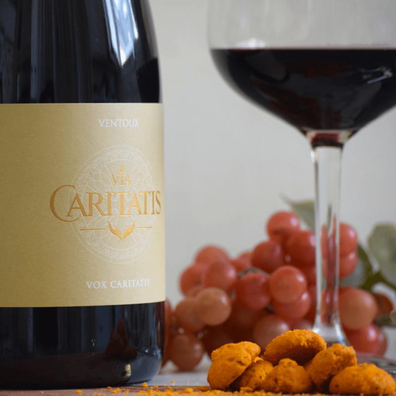 Vin Rouge Vox Caritatis - Abbaye Sainte-Madeleine du Barroux - Divine Box
