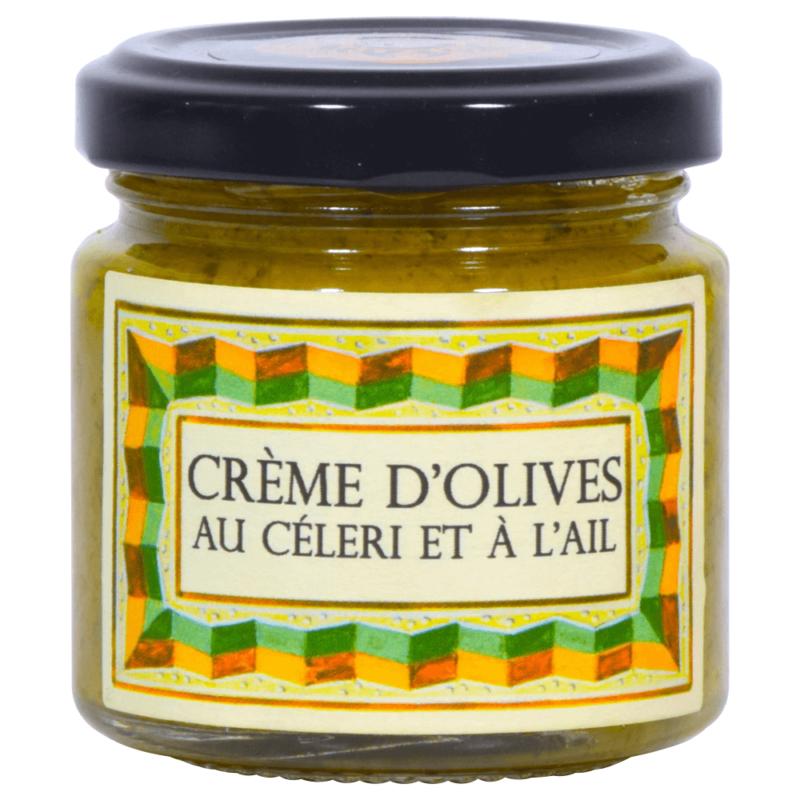 crème d'olive au céleri et à l'ail - monastère de Solan - Divine Box