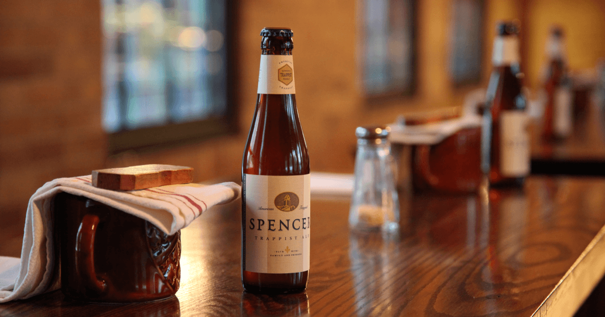 Les bières de l'abbaye de Spencer ont été brassées pour subvenir aux besoins des moines. Leur toute première bière, la Spencer Trappist Ale, était au départ uniquement destinée au réfectoire des moines