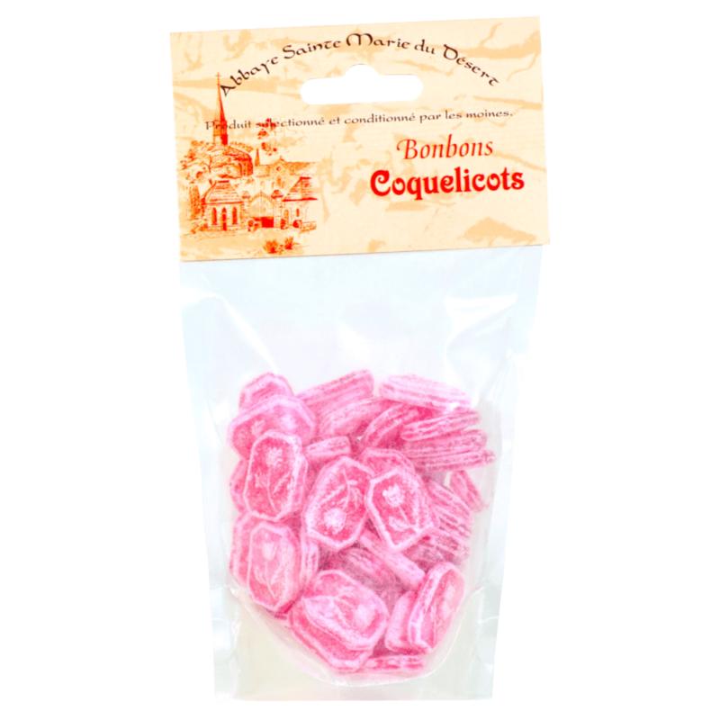 Bonbons coquelicots - Abbaye Sainte-Marie du Désert - Divine Box