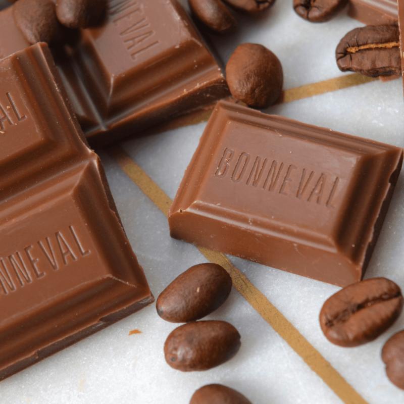 Chocolat au lait et café -Abbaye Notre-Dame de Bonneval - Divine Box