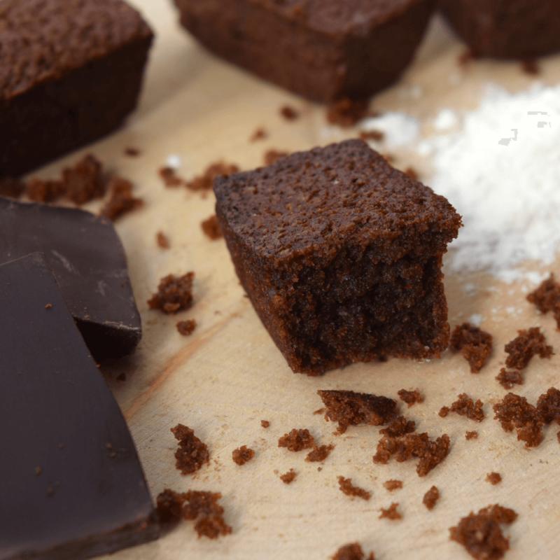 Financiers au chocolat - Abbaye Notre-Dame de Bon Secours de Blauvac - Divine Box