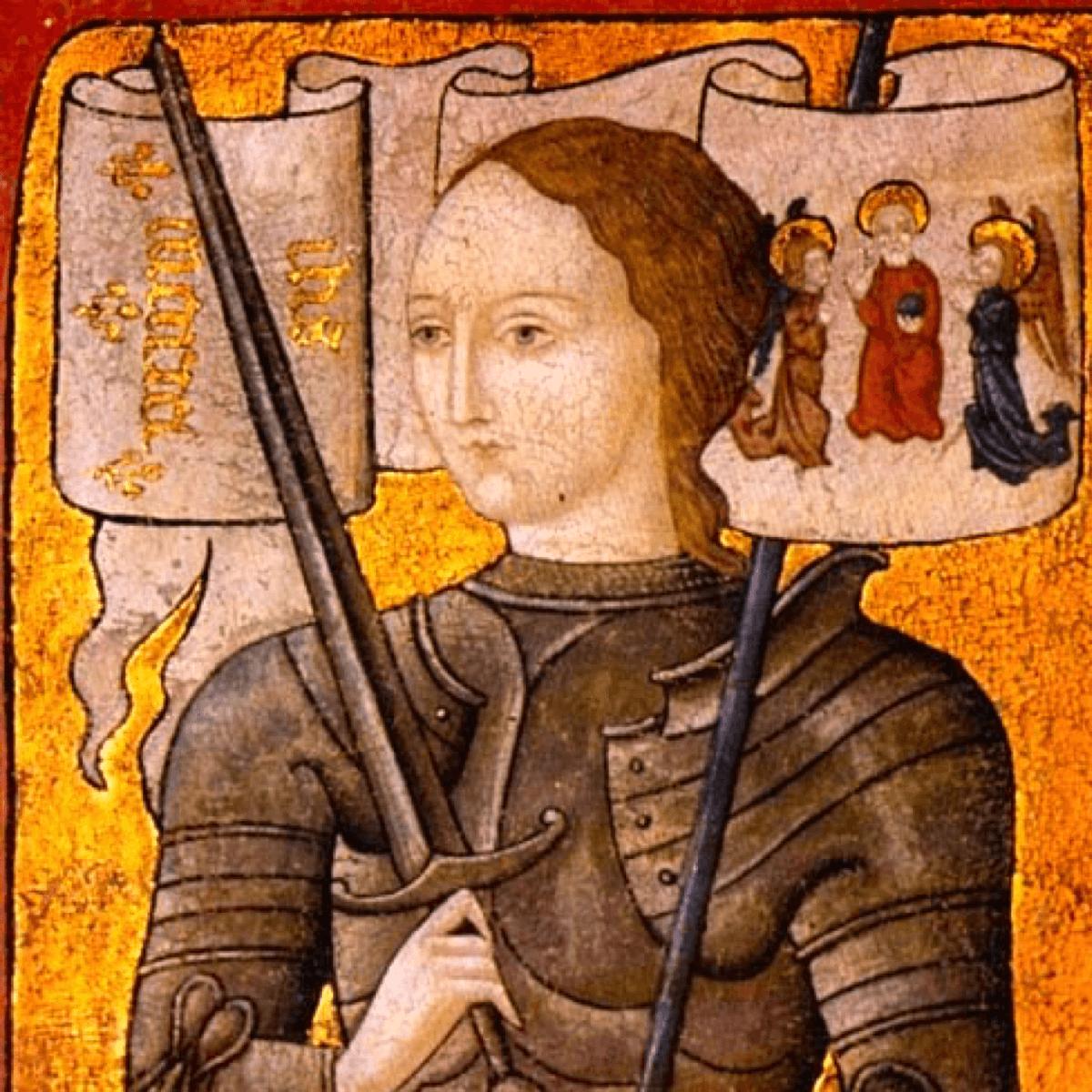 Jeanne d'Arc, qui est venue en aide aux moines de l'abbaye de Fleury - Divine Box