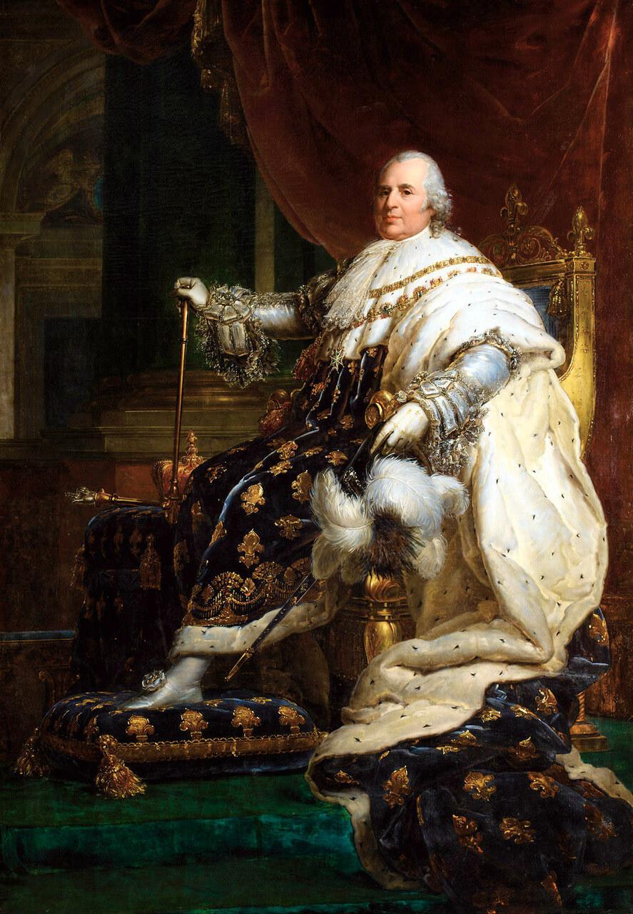 C'est grâce au retour au trône de Louis XVIII que les communautés religieuses peuvent rentrer en France après leur exil