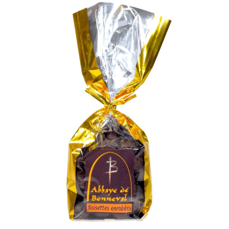 Noisettes enrobées de chocolat - abbaye de Bonneval