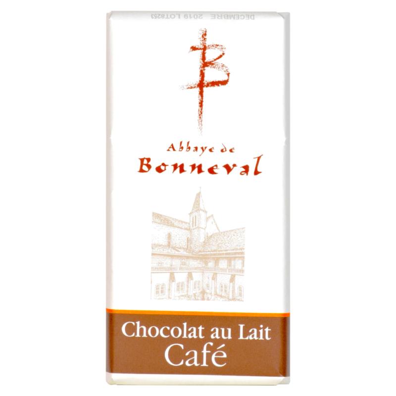 chocolat au lait au café - abbaye de Bonneval
