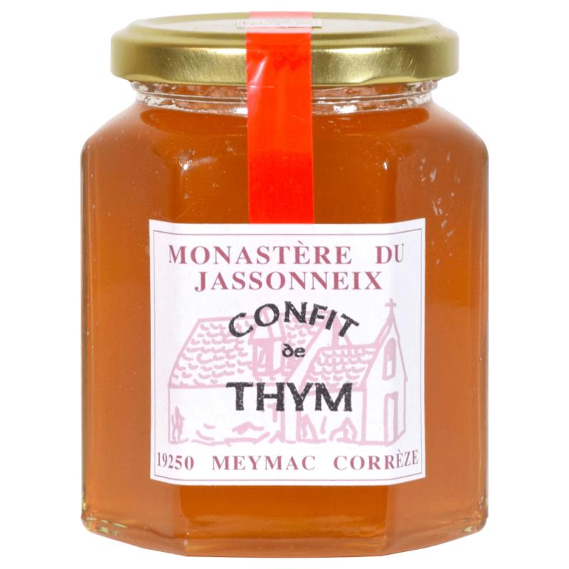 confit de thym - monastère du jassonneix