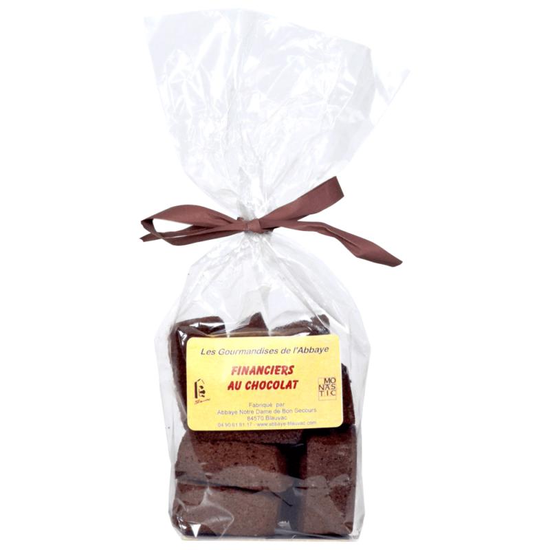 financiers au chocolat - abbaye de Blauvac