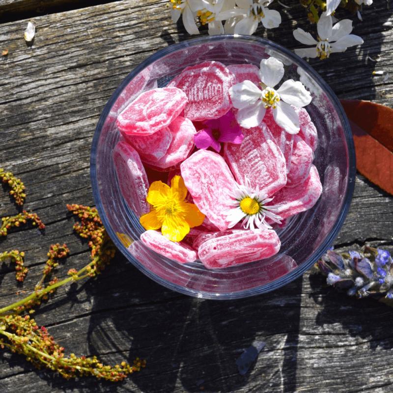 Bonbons au coquelicot - Abbaye Sainte-Marie du désert - Divine Box