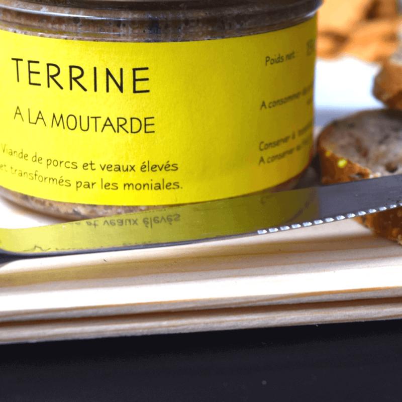 Terrine de porc à la moutarde - Abbaye Sainte-Marie de Boulaur - Divine Box