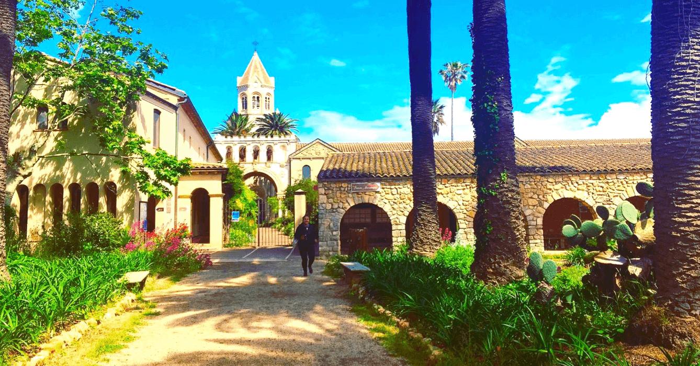 Entrée Abbaye de Lérins
