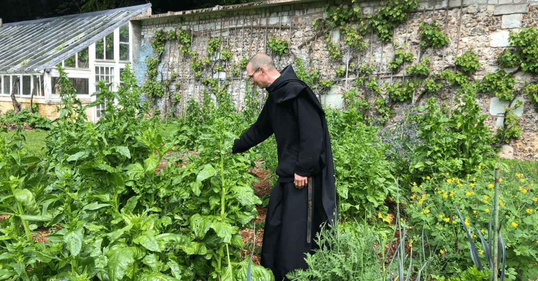 Les frères de Saint-Wandrille utilisent des plantes du jardin de l'abbaye pour explorer différentes recettes et réaliser leurs nouveaux essais
