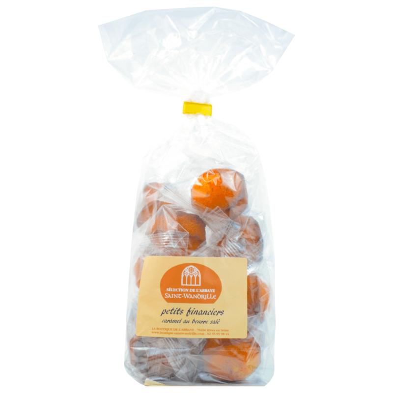Petits financiers caramel au beurre salé - Abbaye Sainte-Wandrille de Fontenelle - Divine Box