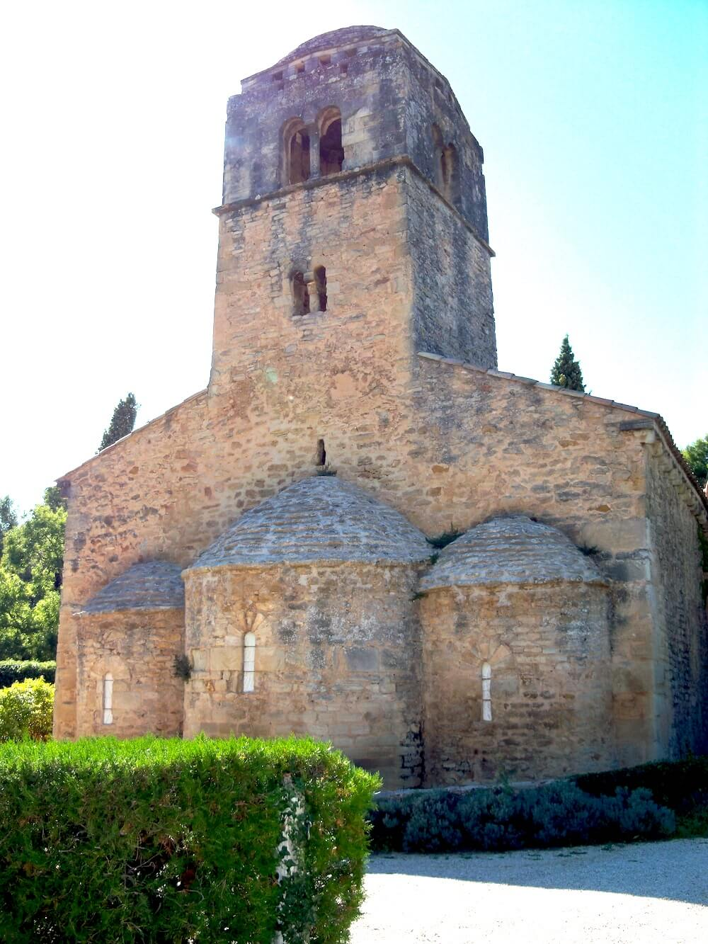 Chapelle de Sainte-Madeleine à Bedoin - Abbaye du Barroux - Divine Box (1)