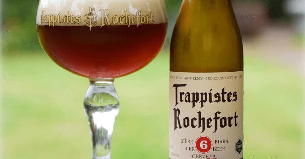 Comme de nombreuses bières, la Rochefort 6 a son propre verre