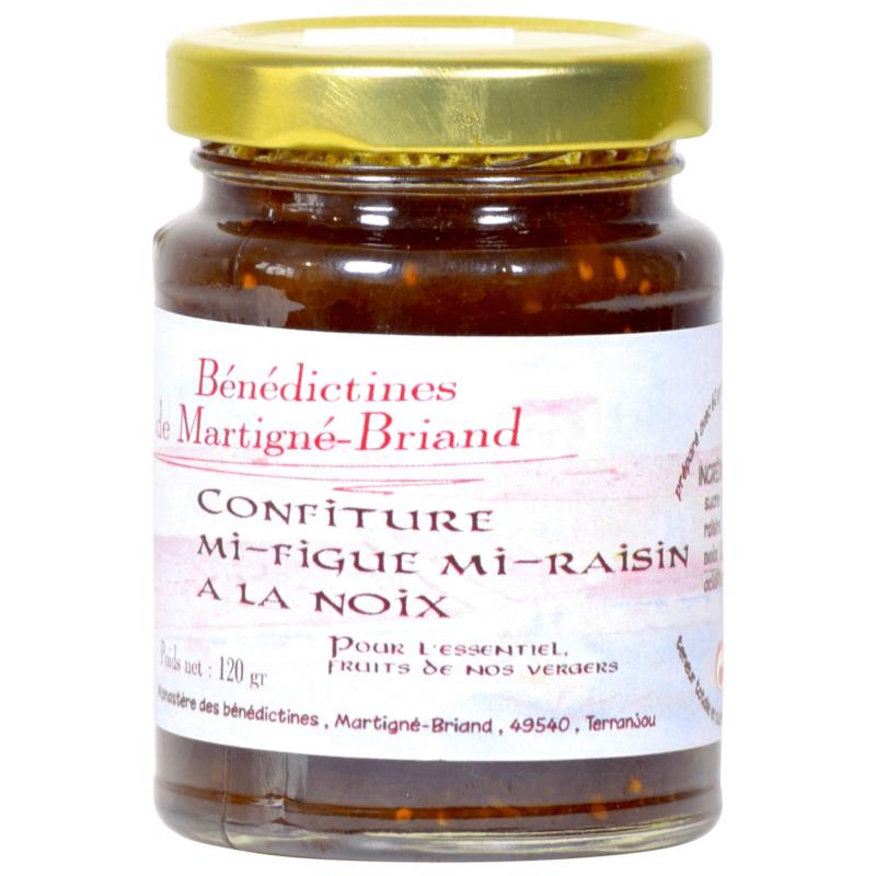 Confiture mi-figue mi-raisin - Monastère de Martigné-Briand - Divine Box